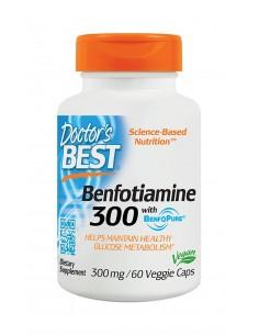 Doctor s Best Benfotiamine 300mg 60 vcaps