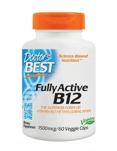 Best Fully Active B12 1500mcg 60 vcaps Doctor's Best