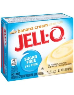 Jell-O Instant Pudding & Pie Filling Sugar Free 25g