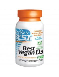Vegan D3 2500 IU 60 vcaps by Doctor's Best