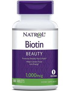 Natrol Biotin 1000mcg 100 tabs