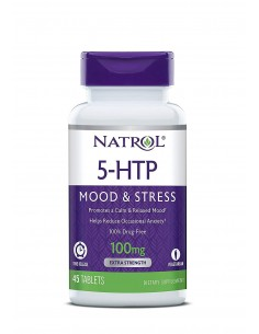 5-HTP Time Release 100mg 45 tabs by Natrol