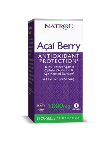 Acai Berry 1000mg 60 vcaps by Natrol