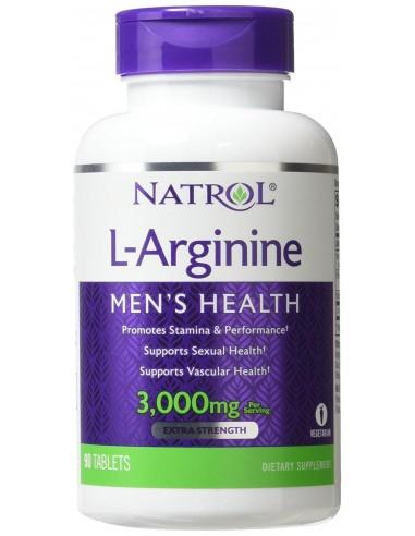 Natrol L-Arginine 3000mg 90 tabs
