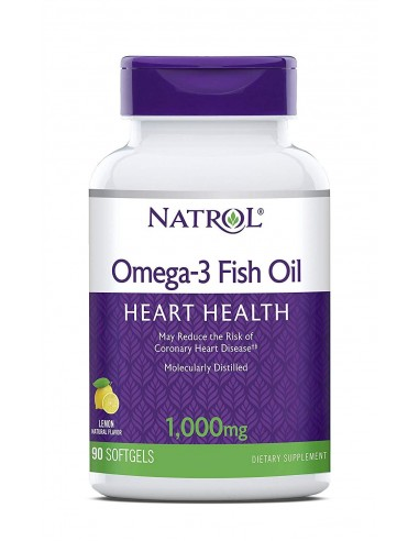 omega 3 - Purified Fish Oil 90gels by Natrol
