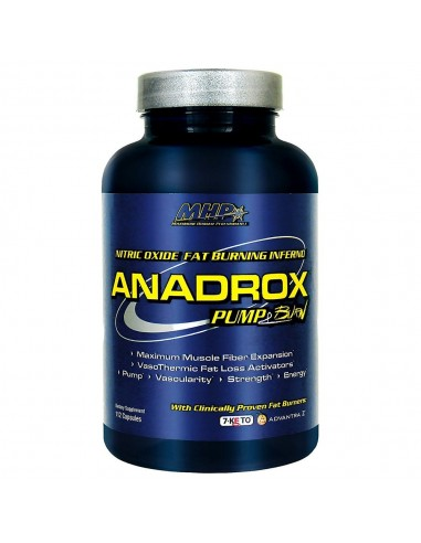 Anadrox Pump & Burn 112 caps by MHP
