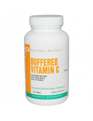 Vitamin C 1000 mg Buffered 100 tabs by Universal Nutrition