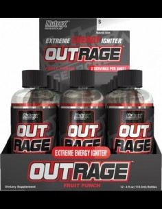 Out Rage Shots Nutrex Research