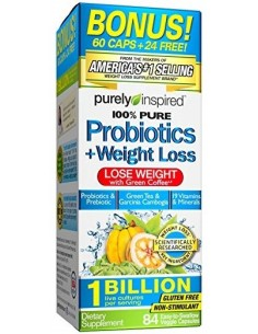 100% Pure Probiotics + Weight Loss by Purely Inspired