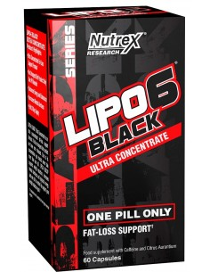 Nutrex Lipo 6 Black Ultra Concentrate New packaging