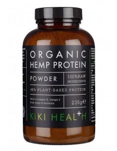 KIKI Health Proteína de cáñamo en polvo ecológica