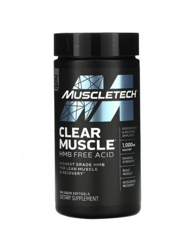 MuscleTechClear Muscle - 84 liquid softgels