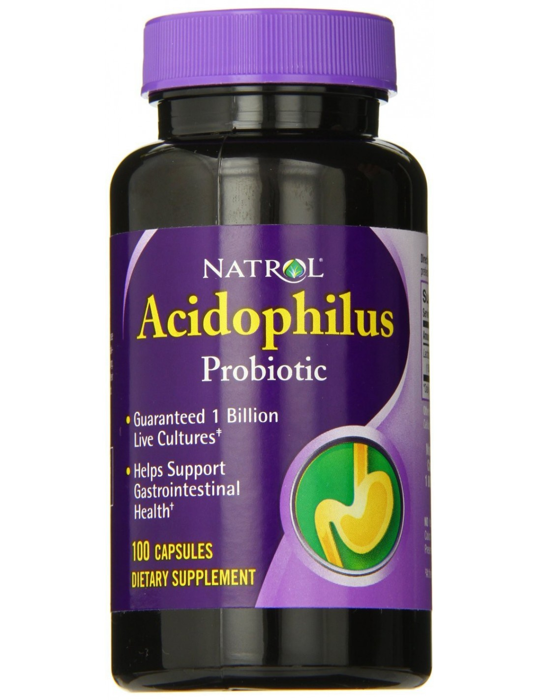 Natrol ACIDOPHILUS 100 mg 100 caps