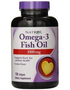 Natrol omega 3 - Purified Fish Oil 150 gels