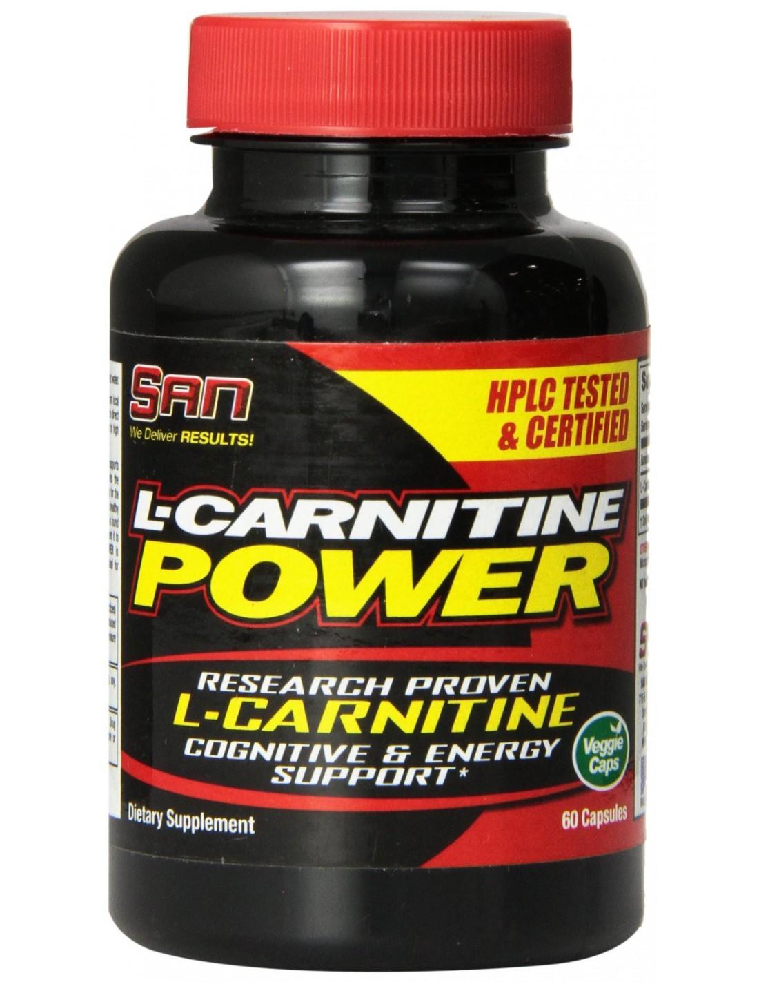 San L-Carnitine Power 60 caps