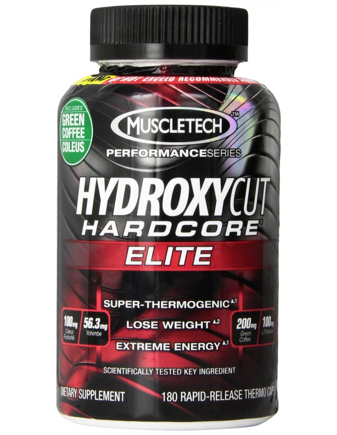 Muscletech HYDROXYCUT HC Elite 180 caps en bodynutrition