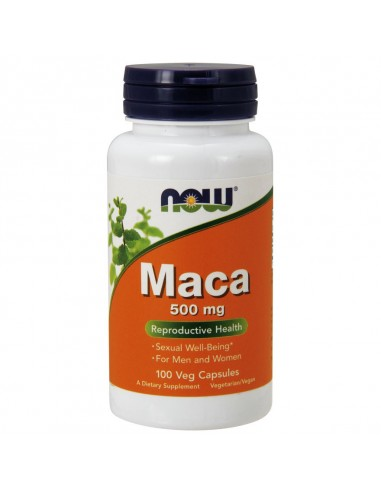Now Foods Maca 500mg 100 cps