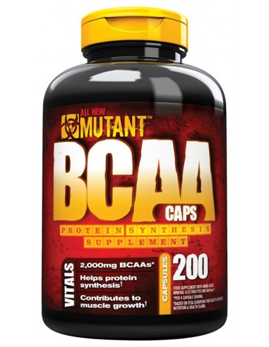 BCAA Caps 200 caps by Mutant