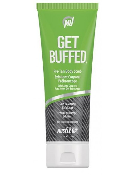 Pro Tan Get BuffedTan Body Scrub and Skin Balancing Exfoliator 237 ml.