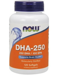 DHA-250 120 softgels NOW Foods