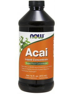 Acai Liquid Concentrate 473 ml NOW Foods