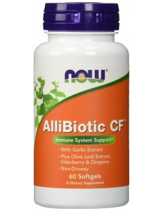 NOW Foods AlliBiotic CF 60 softgels