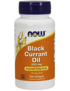NOW Foods Black Currant Oil 500mg 100 softgels