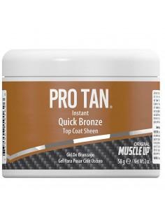 Instant Quick Bronze Top Coat Sheen Gel Pro Tan