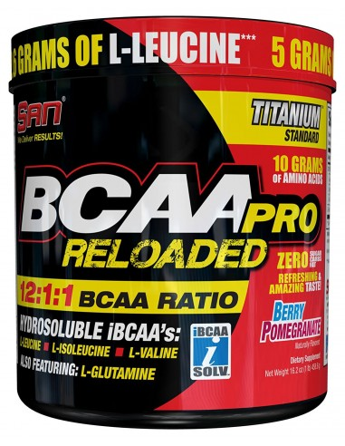 Bcaa Pro Reloaded 456g by San