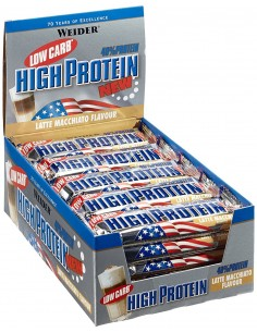Weider Low Carb High Protein Bar 24 bars (50g)