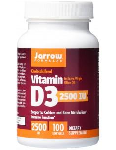 Vitamin D3 2500 IU 100 softgels by Jarrow Formulas